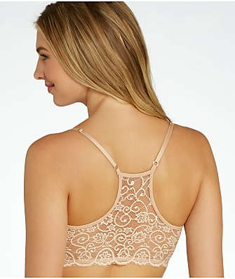 Commando Double Take Lace Racerback Bralette