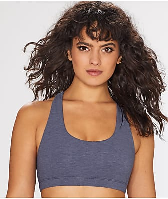 Commando Heathered Cotton Racerback Bralette