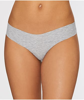 Commando Heathered Cotton Thong