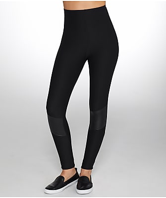 Commando Perfect Faux Leather Motto Leggings