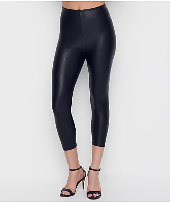 Commando Perfect Control Faux Leather Capri Leggings