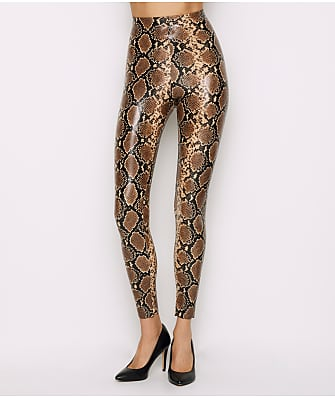 Commando Perfect Control Faux Leather Animal Leggings