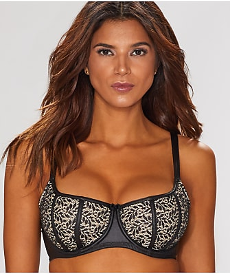 Contradiction Flaunt Lace Balconette Bra