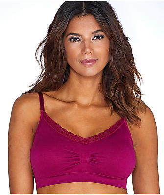Coobie Lace V-Neck Bralette Plus Size