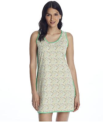 Cosabella Florida Print Knit Tank Gown