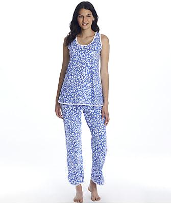 Cosabella Florida Print Tank Knit Pajama Set
