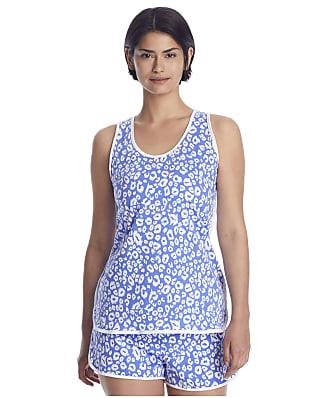 Cosabella Florida Print Tank Knit Boxer Pajama Set
