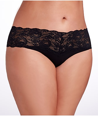 Cosabella Plus Size Never Say Never Lovely Thong Size 3-Pack