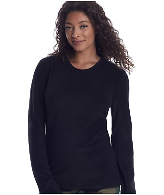 Cuddl Duds Fleecewear Long Sleeve Top