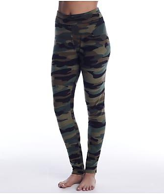 Cuddl Duds Fleecewear Knit Camo Leggings