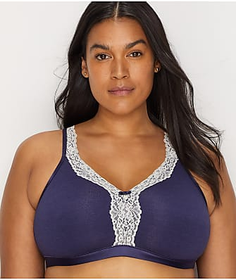 99fd4fec662 Curvy Couture Cotton Luxe Wire-Free Bra