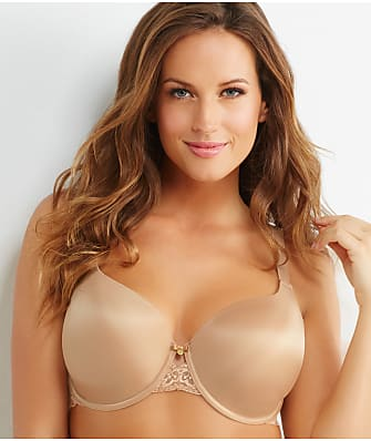 Curvy Couture Lace and Shine T-Shirt Bra