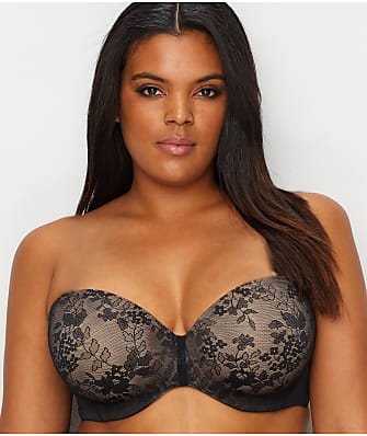 Curvy Couture Strapless Multi-Way Push-up Bra