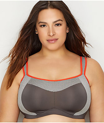 Curvy Couture Confident Fit High Impact Wire-Free Sports Bra