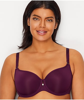 Curvy Couture Tulip Convertible Push-Up T-Shirt Bra