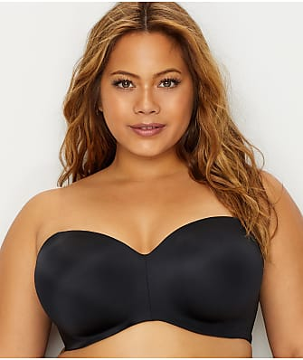 Curvy Couture Smooth Multi-Way Strapless Bra 96dd0e0b1