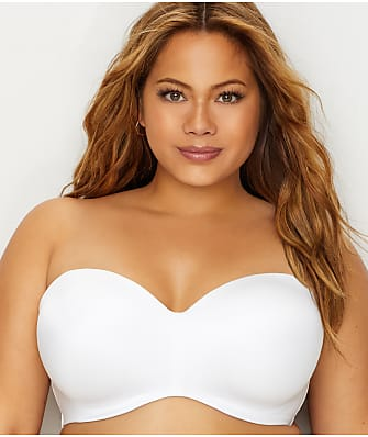 Curvy Couture Smooth Multi-Way Strapless Bra