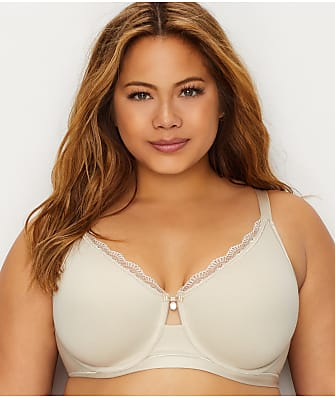 Curvy Couture Cotton Comfort Luxe Bra