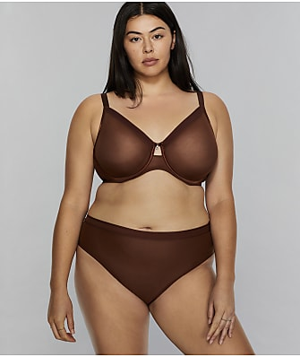 Curvy Couture All You Mesh Bra