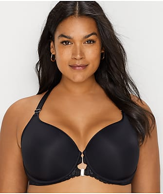Curvy Couture Tulip Front-Close T-Shirt Bra