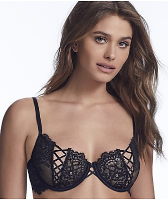 Inner Secrets Lace-Up Bra