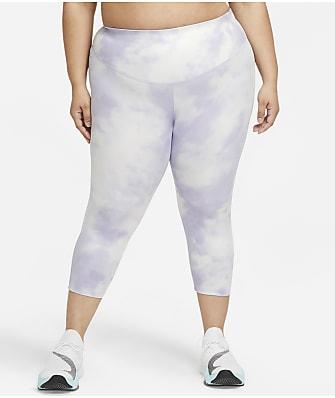 Nike Plus Size Cropped Printed Leggings