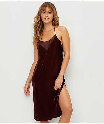 DKNY The Look Of Luxe Velvet Chemise