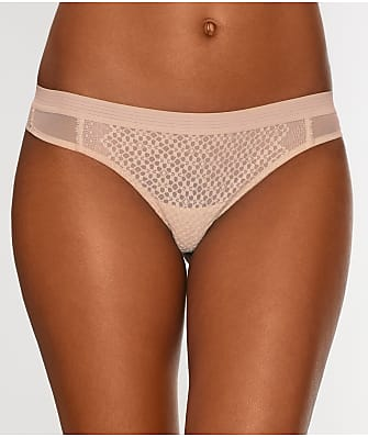 DKNY Sheer Lace Thong