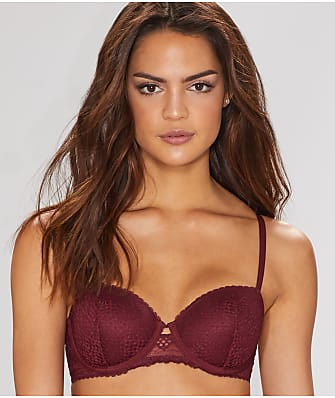 DKNY Sheer Lace Balconette Bra