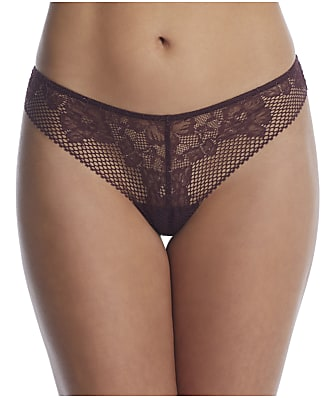 DKNY Soft Tech Lace Thong