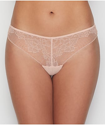 DKNY Soft Tech Lace Thong