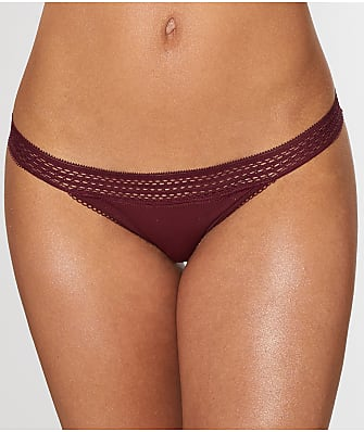 DKNY Classic Cotton Lace Trim Bikini