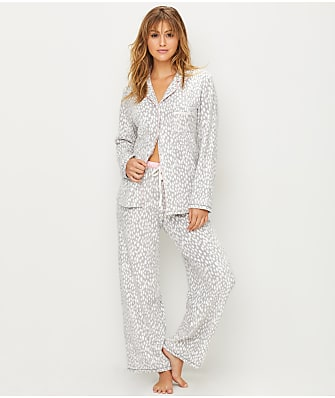 DKNY Fierce Chilis Fleece Pajama Set
