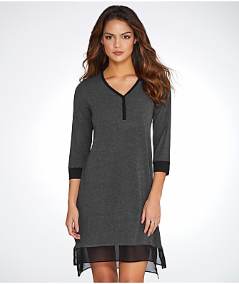 DKNY Season Silhouettes Knit Sleep Shirt