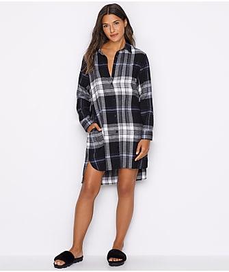 DKNY Flannel Sleep Shirt