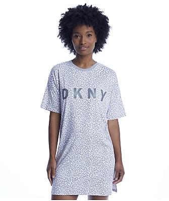 DKNY Printed Knit Sleep Shirt