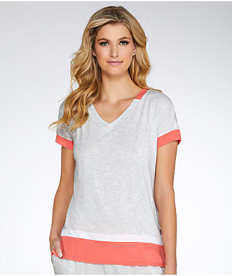 DKNY Urban Essentials Colorblock Modal Sleep Top