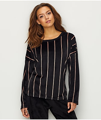 DKNY Elevated Leisure Velour Sleep Top