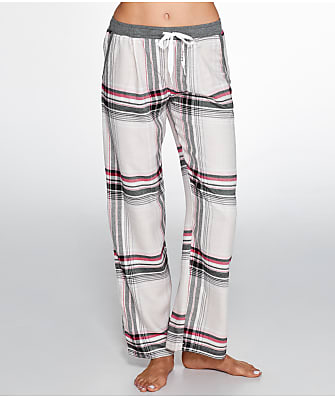DKNY Checked In Woven Pajama Pants