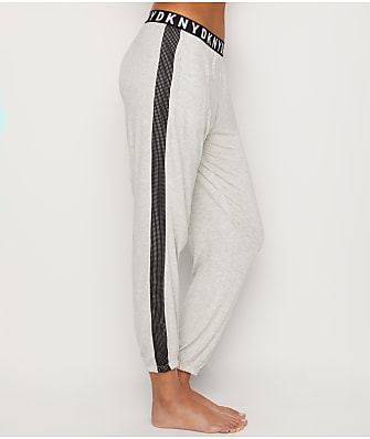 DKNY Logo Lock Up Knit Jogger