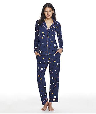 DKNY Sleepwear Cotton Knit Pajama Set