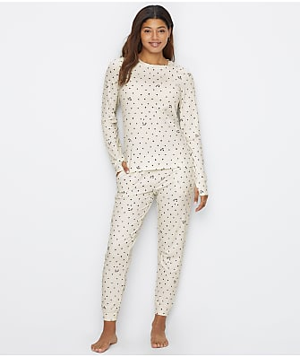 DKNY Cozy Star Knit Pajama Set