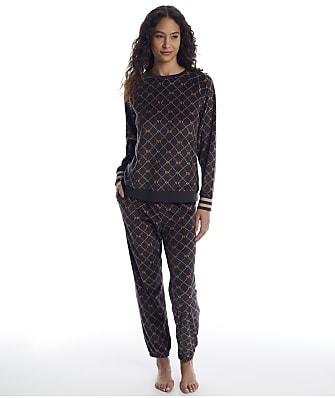 DKNY Velour Pajama Set