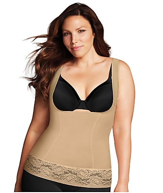 Maidenform Plus Size Firm Control Open-Bust Camisole
