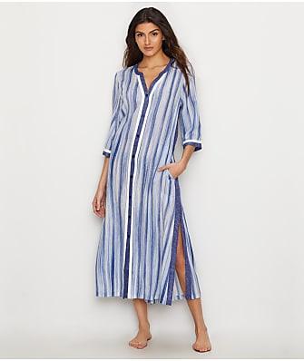 Donna Karan Woven Maxi Gown