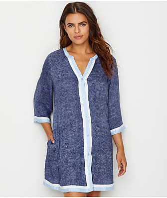 Donna Karan Woven Sleep Shirt
