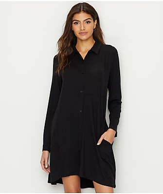 Donna Karan Jersey Knit Sleep Shirt