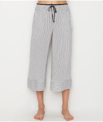 Donna Karan Woven Capri Pajama Pants