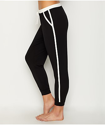Donna Karan Colorblock Knit Jogger Pants