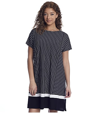 Donna Karan Sleepwear Get In Line Modal Sleep Shirt